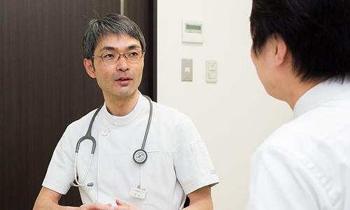 呼吸器内科の患者さんを中心に診療する事ができます