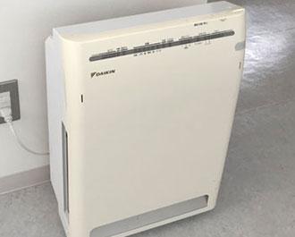 4.各場所に空気清浄機を配置しています。